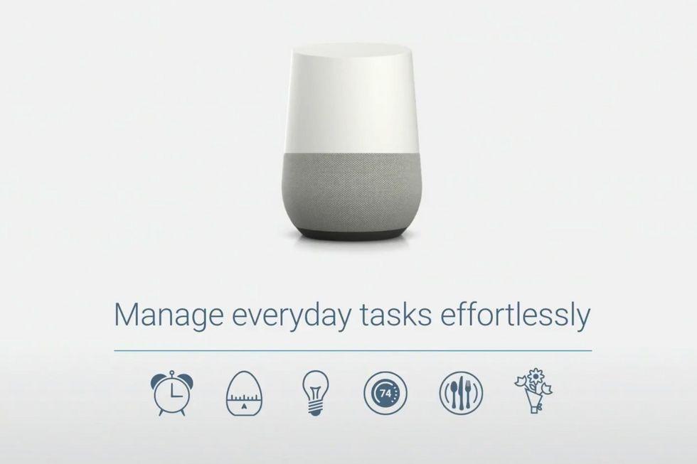 google home l 39 objet connect indispensable pour votre. Black Bedroom Furniture Sets. Home Design Ideas